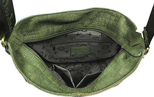 Neue Hand Tasche, Borsa a spalla donna verde green