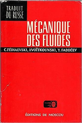 Livre Mécanique des fluides pdf