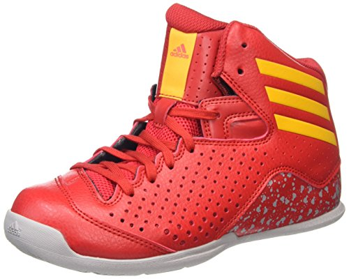 adidas Nxt Lvl Spd Iv Nba K, Zapatillas de Baloncesto para Niños Rojo (Rojsld / Orosld / Onisua)