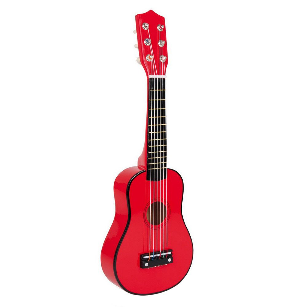 Small foot company - 3306 - Jouet Musical - Guitare - Rouge 2020252