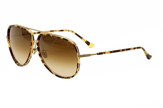 651e2f2a83ae Dita Condor Two 21010A 21010 A Shiny Tortoise 12K Gold Aviator Sunglasses  62mm