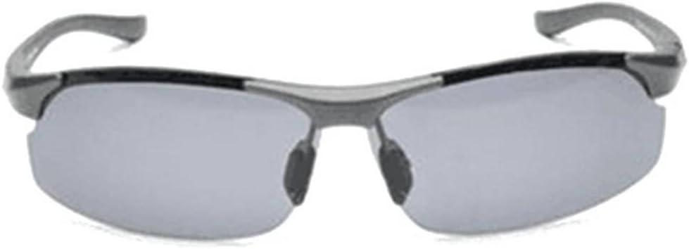 CAMTOA アウトドアスポーツ 日光防止 ビーチ 旅行 釣り 目を保護 丈夫な偏光サングラス 青みがかったグレー