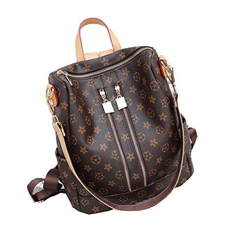 Gshga New Backpack Shoulder Bag Casual Fashion Print Women Handbag Single Double Travel Bag Portable Hand Style1