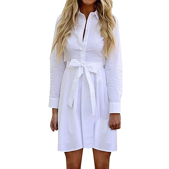 Vestidos Mujer Patchwork sólido de Verano Largo Maxi Falda Mujer Túnica sólida Top Boho Vestido de