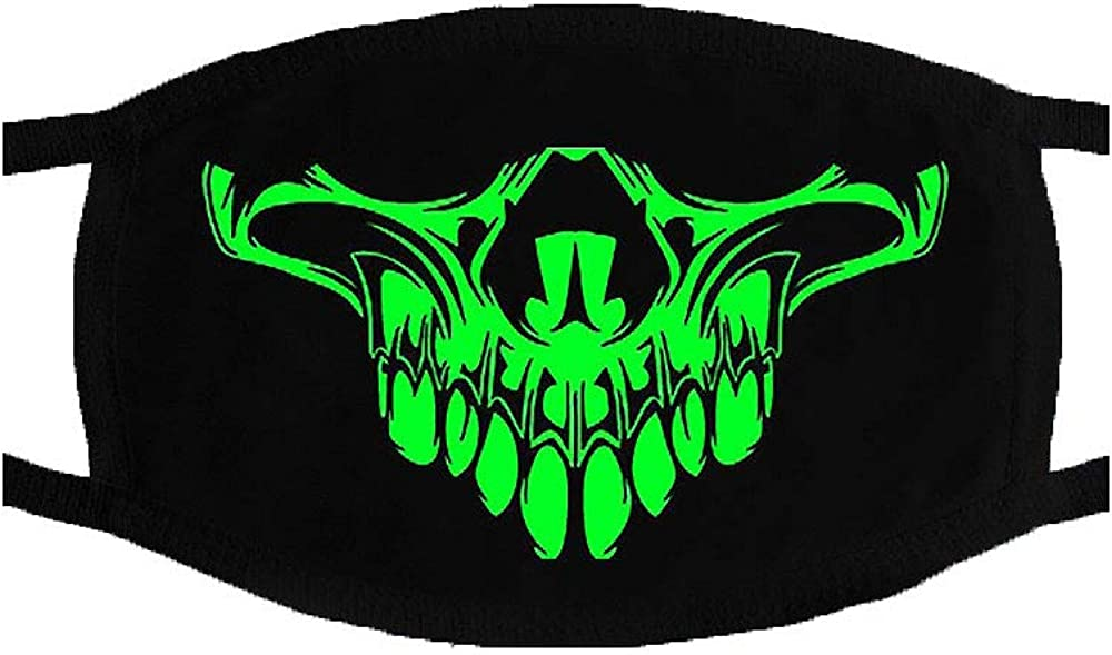 Glow in The Dark - Cool Scary Luminous - Glowing Party Costume Accessories