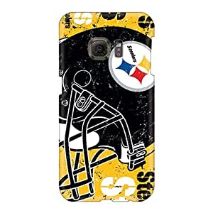 Perfect Hard Phone Covers For Samsung Galaxy S6 (Lbk16006sMuj) Custom Nice Pittsburgh Steelers Skin