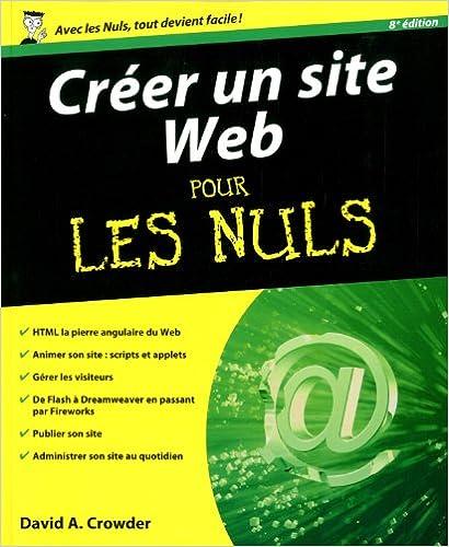 Livres gratuits en ligne Créer un site Web 8e pour les Nuls pdf ebook
