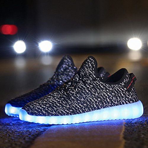 Cayanland Led Light Up Shoes Fashion Sneaker For Men Women