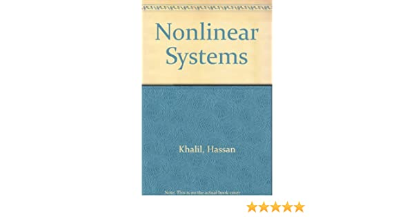 Nonlinear systems hassan k khalil 9780023635410 amazon books fandeluxe Images