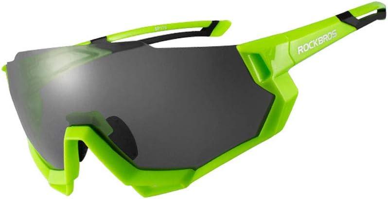 Gafas De Montar para Hombres Y Mujeres, Gafas De Sol De Ciclismo Polarizadas con Protección UV400 Gafas De Sol Deportivas TAC Marcos para PC,1