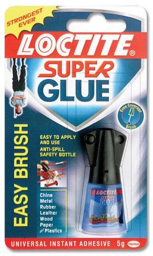 Loctite Super Glue Easy Brush in Anti-spill safety Bottle 5g Ref 87819150 Henkel Ltd 46227X