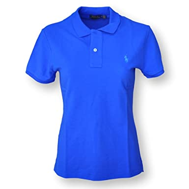 Image Unavailable. Image not available for. Color  Polo Ralph Lauren Women s  Skinny Mesh Polo Shirt f4f48ba11e98