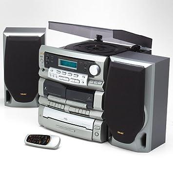 Amazon.com: TEAC dc-d2831 compacto estéreo con cambiador y ...