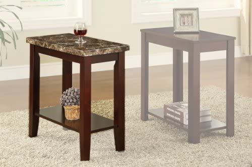 Cherry Chairside Table