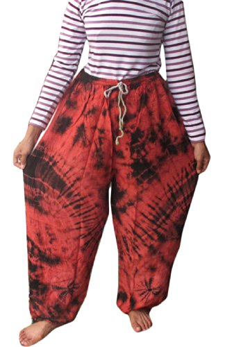Fisherman Yoka Pants Hippie Baggy Trousers by Sumalee
