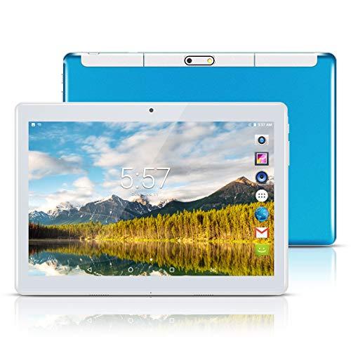 Android Tablet 10 Zoll,PADGENE 1280×800 Quad Core CPU Tablet PC Dual-SIM Slots USB/SD Dual Kamera 2MP und 5MP WiFi/3G…