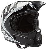 Fox Head Rampage Bicycle Race Helmet, Black/White, Large