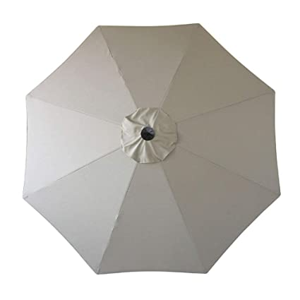 Sunbrella Umbrella Canopy Replacement Only for 9u0027 Patio Umbrella 9 FT 8 Ribs Outdoor Garden  sc 1 st  Amazon.com & Amazon.com : Sunbrella Umbrella Canopy Replacement Only for 9u0027 Patio ...