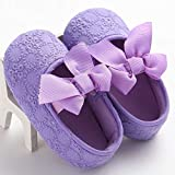 LooBooShop Newly Cute Lovely Casual Shoes Baby Girl Soft Sole Bow Crib Shoes Floral Slip-On Spring Autumn Shoes Outfit 0-18M 5 Style