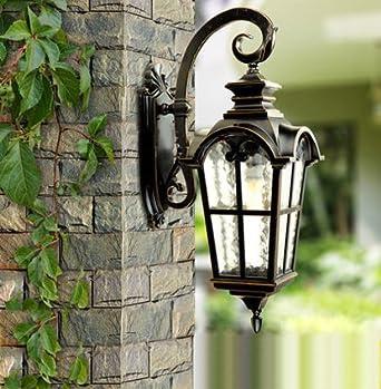 Europe haut de gamme style lampe extérieure lampe murale étanche ...
