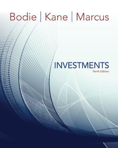 Investments by Bodie, Zvi, Kane, Alex, Marcus, Alan 10th (tenth) (2013) Hardcover