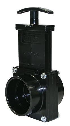 Black Valterra 7201 ABS Gate Valve 2 Slip
