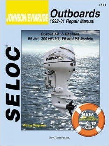 SL1311 Seloc 1992-2001 Johnson Evinrude 4, 6, 8, Cylinder