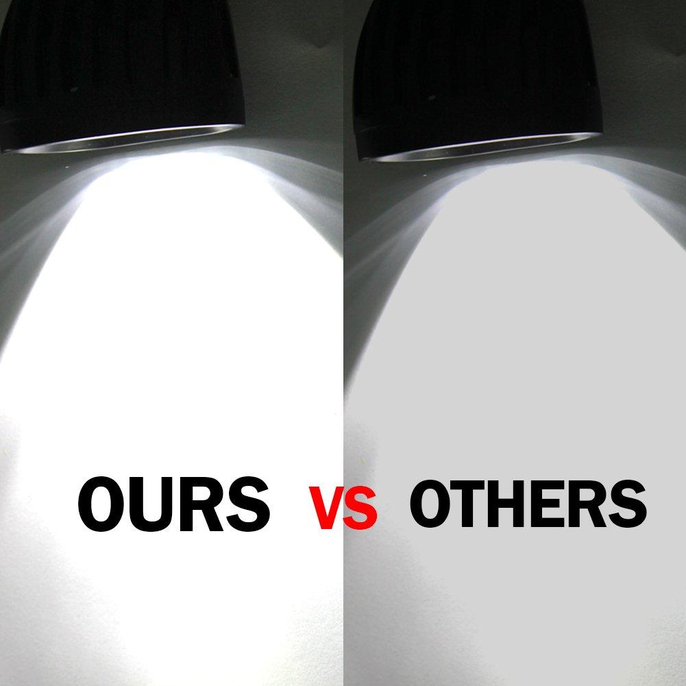 Pack of 2 LED Stop Brake Light Bulb 12V 1156 BA15s 7528 2057 2357 2397 COB Car Tail Parking Reverse Light Bulbs 6000K White