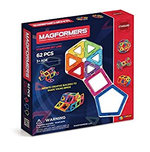 Magformers Standard Set (62-pieces)
