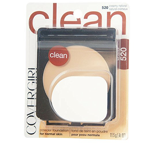 CoverGirl Simply Powder Foundation, Creamy Natural [520] 0.41 oz (Pack of 2) ()