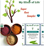 Organic Super Root Sampler-Beet Root, Ginger Root & Turmeric Root Powder