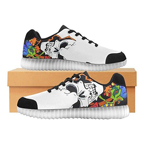D-story Bevingade Öga Mode Sneakers Lyser Womens Skor Multicoloured42