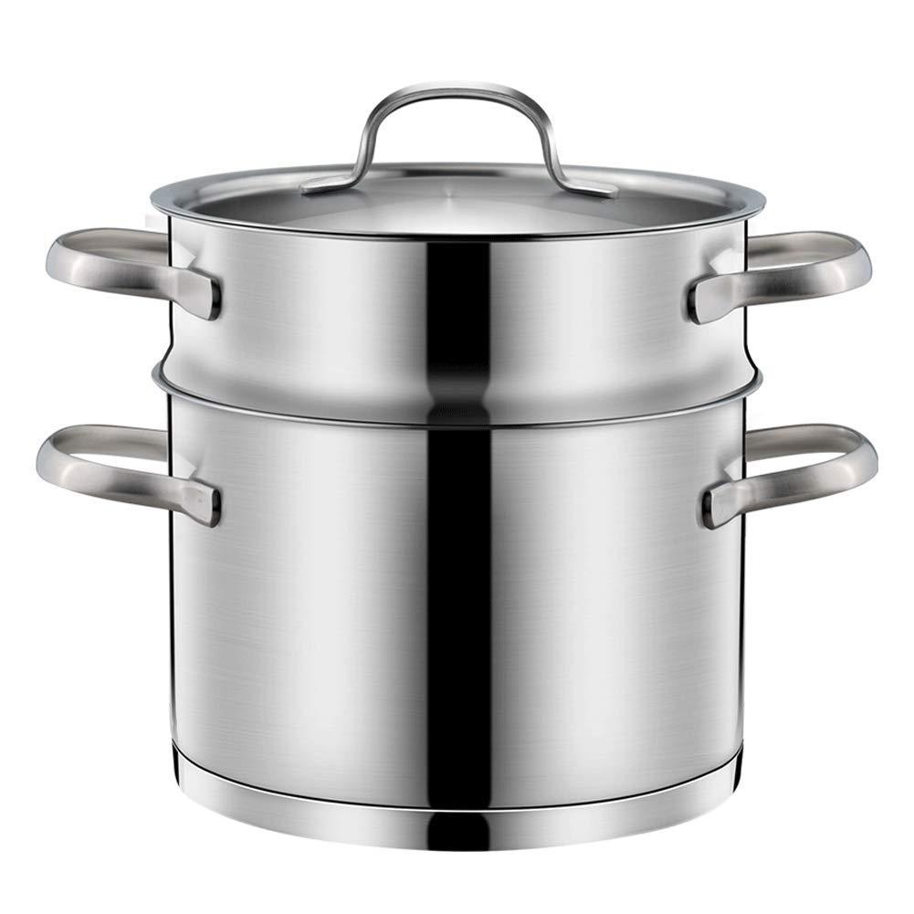 Food steamer stainless steel mini steamer household 1 layer steamer single layer multi-function pot