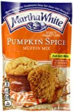 Martha White Pumpkin Spice Flavored Muffin Mix, 7 Ounce