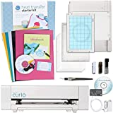 Silhouette America SCBD-27 Curio Cabinet Digital Crafting Machine with Heat Transfer Starter Kit