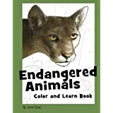 Endangered Animals Color and Learn Book: The Coloring Book for Kids Who Love Endangered Animals by Jonni Good (2010-11-01)
