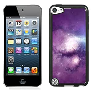 New Beautiful Custom Designed Cover Case For iPod 5 With Purple Nebula 2 Phone Case