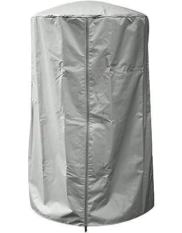 Wifehelper Cubierta para Calentador de Patio para Chimenea, Resistente al Agua, Resistente a los