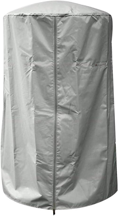 Wifehelper Cubierta para Calentador de Patio, para Trabajo Pesado Cubierta para Calentador de Patio Impermeable Resistente a los Rayos UV, Resistente a los Rayos UV, Resistente a la Intemperie(Gris)