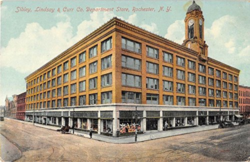 Rochester New York Sibley Lindsay Curr Co. Department Store Antique PC - Stores Department New Rochester York