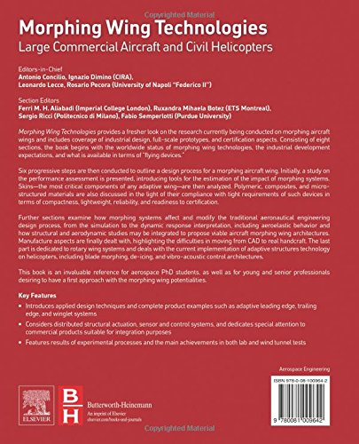 ... Technologies: Large Commercial Aircraft and Civil Helicopters: Amazon.es: Antonio Concilio Ph.D., Ignazio Dimino, Leonardo Lecce Ph.D., Rosario Pecora, ...