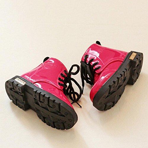 Clode® Baby Jungen Mädchen Martin Sneaker Winter Warm Dick Schnee Baby Stiefel Schuhe Rot