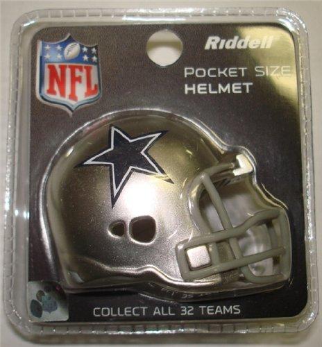 (Dallas Cowboys Riddell Revolution Pocket Pro Football Mini Helmet)