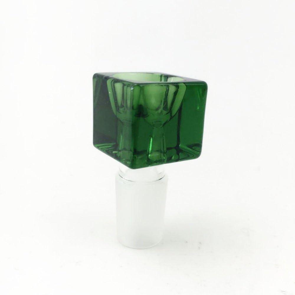 Pipe /à tabac /à percolateur de type /«/Nid dabeille//» 43/cm de haut Tige et douille 18,8/mm vert Pipe /à eau en verre Sunshine Glass