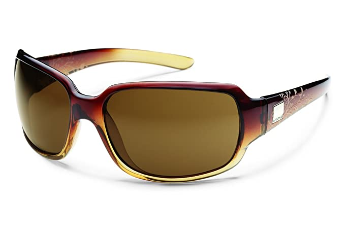 6ead78105c9 Image Unavailable. Image not available for. Colour  Suncloud Cookie  Polarized Sunglasses Brown Fade Laser Frame