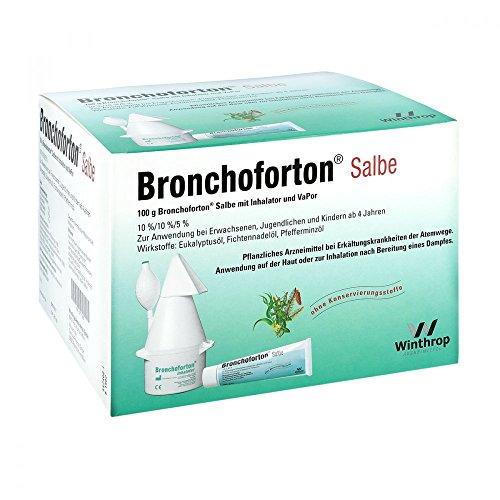 Bronchoforton Inhalator/Salbe+Vapor Kombipackung, 1 P