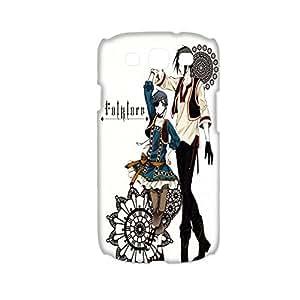 Creativity Back Phone Case For Girly For Samsung S3 I9300 Design With Kuroshitsuji Choose Design 1-1