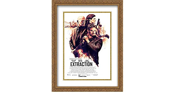 Amazon Com Extraction 28x36 Double Matted Large Large Gold Ornate Framed Movie Poster Art Print Posters Prints