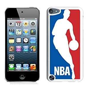New Custom Design Cover Case For iPod Touch 5th Generation NBA 1 White Phone Case