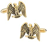 Gold American Eagle Cufflinks